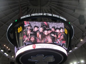 Photo of IU South Bend commencement