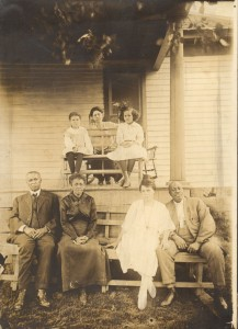 Wingo Family circa 1910s. Migrated from Kentucky in the early 1900s.  Image Credit of the Civil Rights Heritage Center Collection of the Indiana University South Bend Archives.