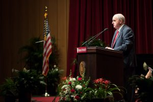 Photo of IU President Michael McRobbie