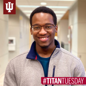 Trevor Fowler, graduated from IU South Bend in 2018 with a BA in public relations.