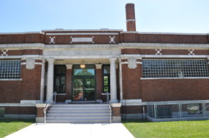 The Engman Natatorium, home of the Civil Rights Heritage Center