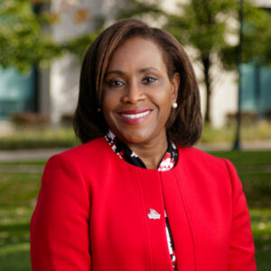 Indiana University South Bend Vice Chancellor for Student Affairs and Diversity Monica Porter