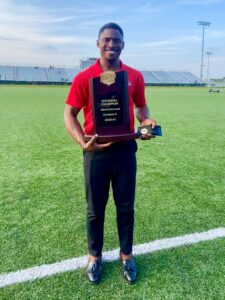 IU South Bend Sports and Exercise Science Alum Wisdom Ifeanyi Leads Southeastern Community College Men's Soccer to First National Title